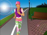 Barbie Goes Jogging