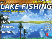 Lake fishing Alpine pearl