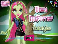 Venus McFlytrap Hairstyles