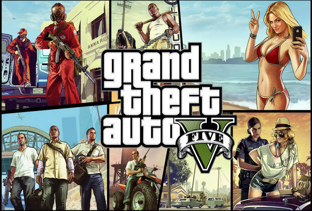 Action Video Game GTA 5