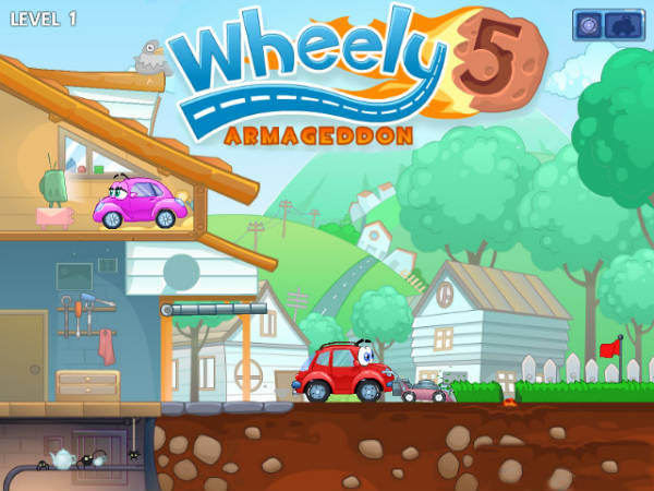 3d Driving Games Download >> Wheely 5: Armageddon - Play Car Adventures Game for Kids